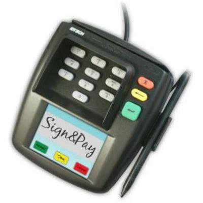 ID Tech Sign & Pay Terminals
