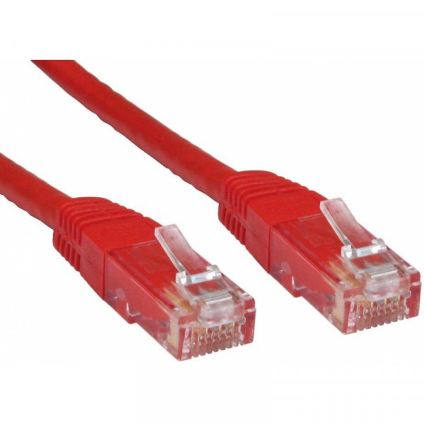 PATCH CABLE 1M CAT6 UTP RED