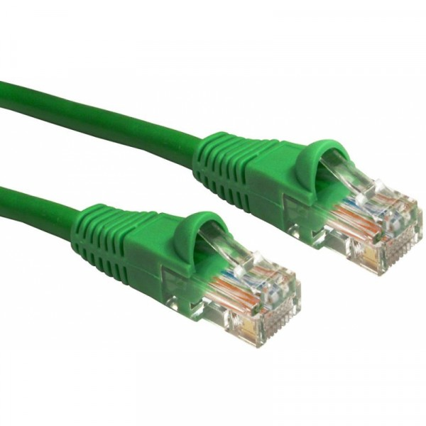 1M CAT6 UTP SNAGLESS GREEN PATCH CABLE