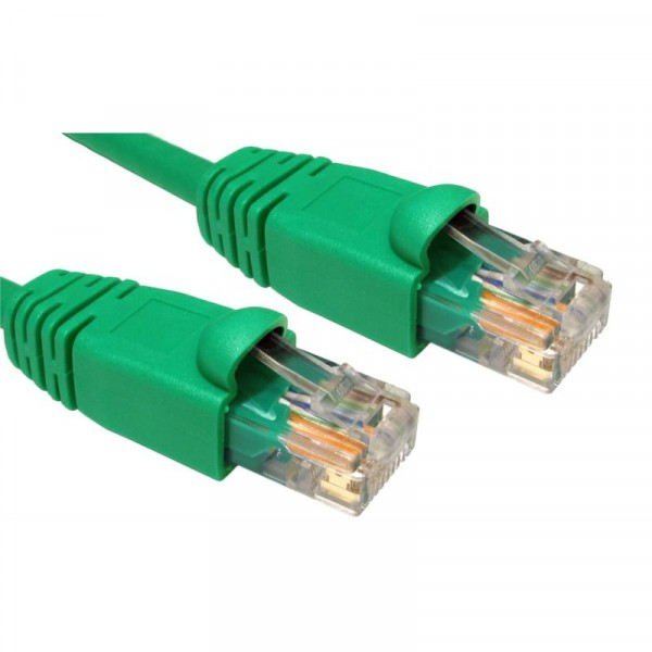 2M CAT5E UTP SNAGLESS GREEN PATCH CABLE