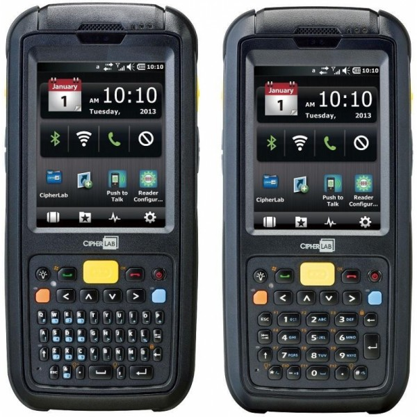 CIPHERLAB, CP60, MOBILE COMPUTER, IP65/67, 8FT DROP, WCE 6.0, GPS, WLAN 802.11 A/B/G/N, BLUETOOTH, CCXV4, LONG RANGE LASER, AT&T HSPA+, TRANSFLECTIVE LCD, 5M CAMERA, 4G/512MB, QWERTY KEYPAD, US