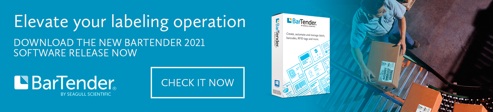 Download the new bartender 2021 software