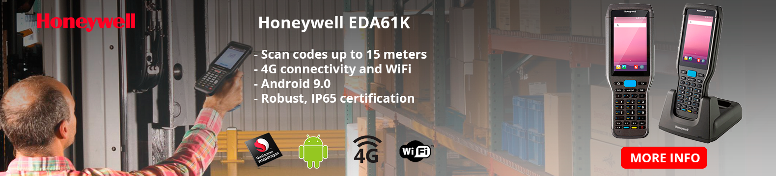 Meet the EDA61K terminal, Honeywell's new feature