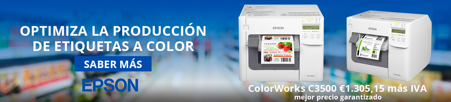 Optimiza la producción de etiquetas a color